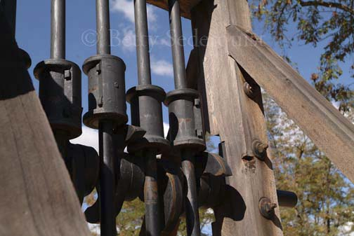 Stamp mill detail, Coloma, California